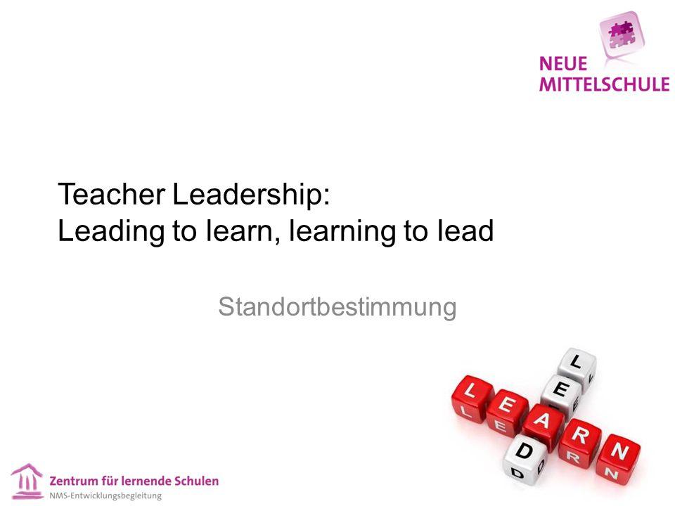 Unser Verständnis von Teacher Leadership 2 Als Strategie: Die Strategie, exzellente Lehrer/innen für die Entwicklung von Schulqualität, in der die Lehrperson als Wirksamkeitsfaktor Nr.