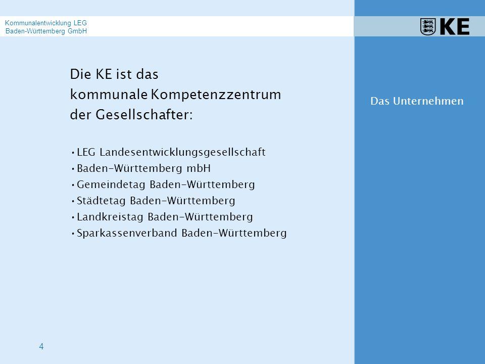 5 Unser Angebot umfasst Baulandentwicklung Stadt- und Dorferneuerung Projektmanagement Projektsteuerung Hochbau Städtebauliche Planung Entwicklungsplanung Wirtschaftsförderung Organisationsberatung Bürgerbeteiligung und Partizipation Angebot der KE Kommunalentwicklung LEG Baden-Württemberg GmbH