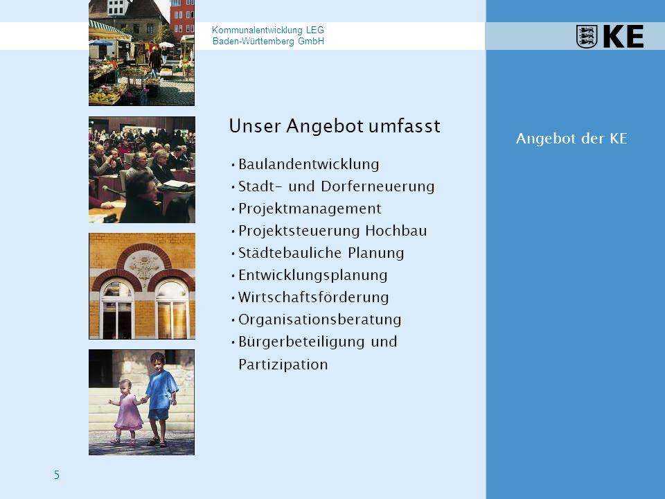 26 Kommunalentwicklung LEG Baden-Württemberg GmbH Beispiele