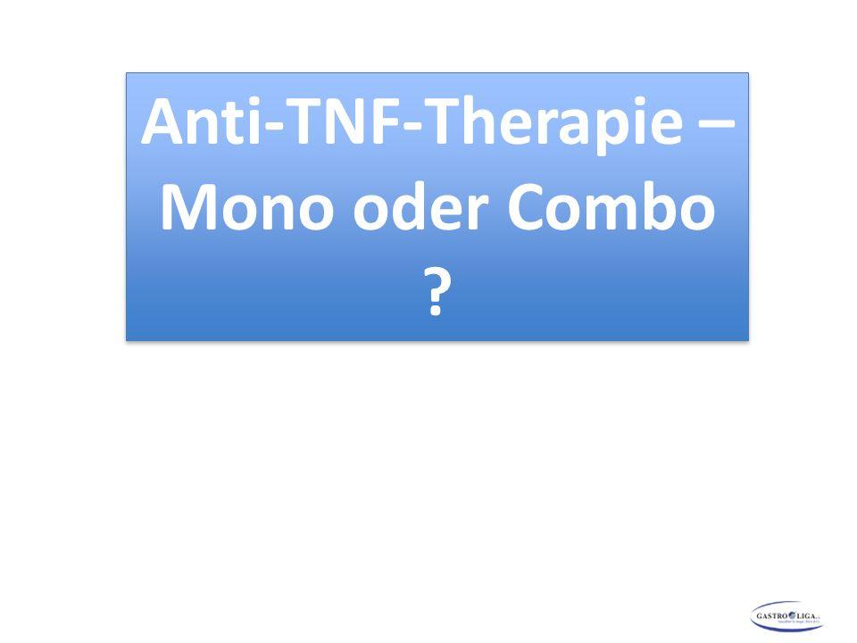 Anti-TNF-Therapie – Mono oder Combo ?