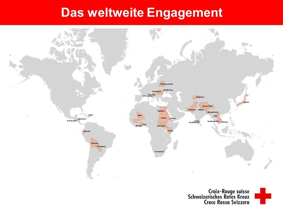 Das weltweite Engagement
