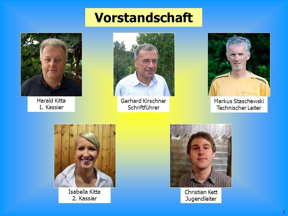 5 Vorstandschaft Markus Staschewski Technischer Leiter Gerhard Kirschner Schriftführer Harald Kitta 1.