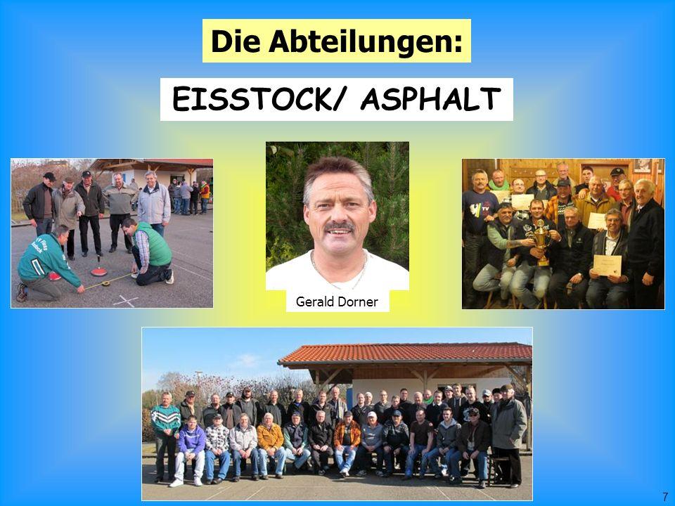 7 Die Abteilungen: EISSTOCK/ ASPHALT Gerald Dorner