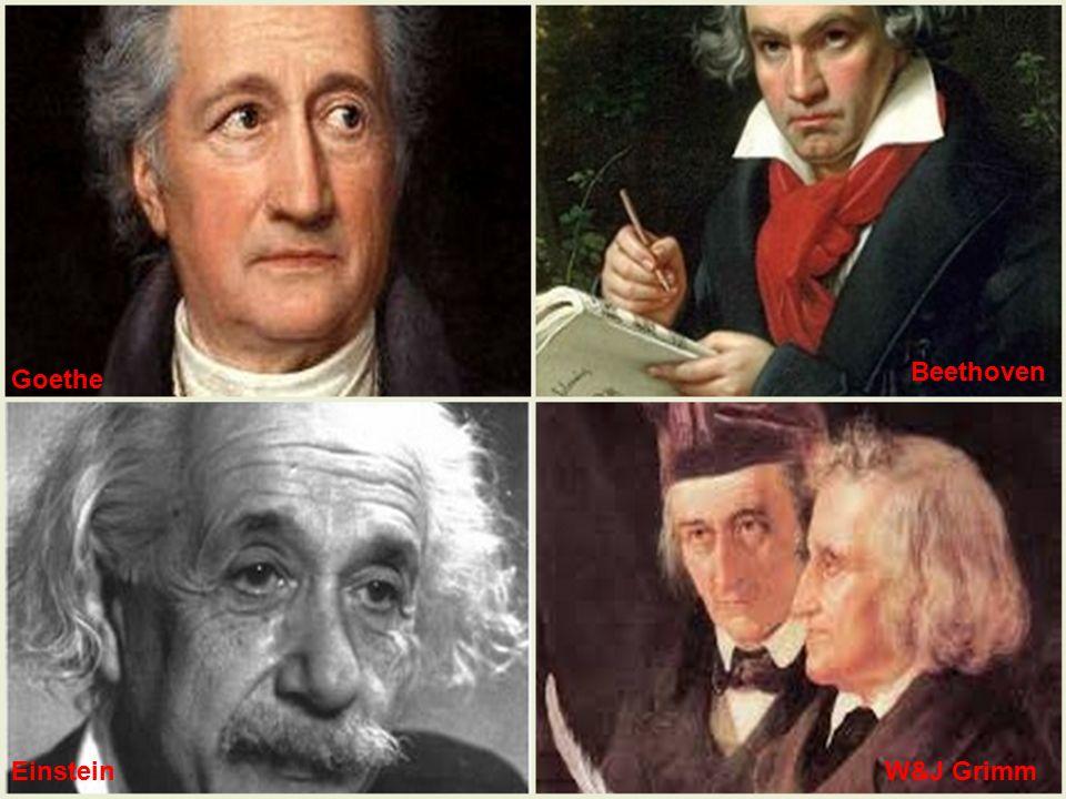 Goethe Beethoven W&J GrimmEinstein