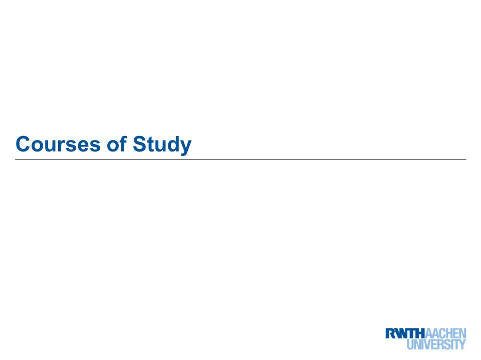 21 von 68 Courses of Study