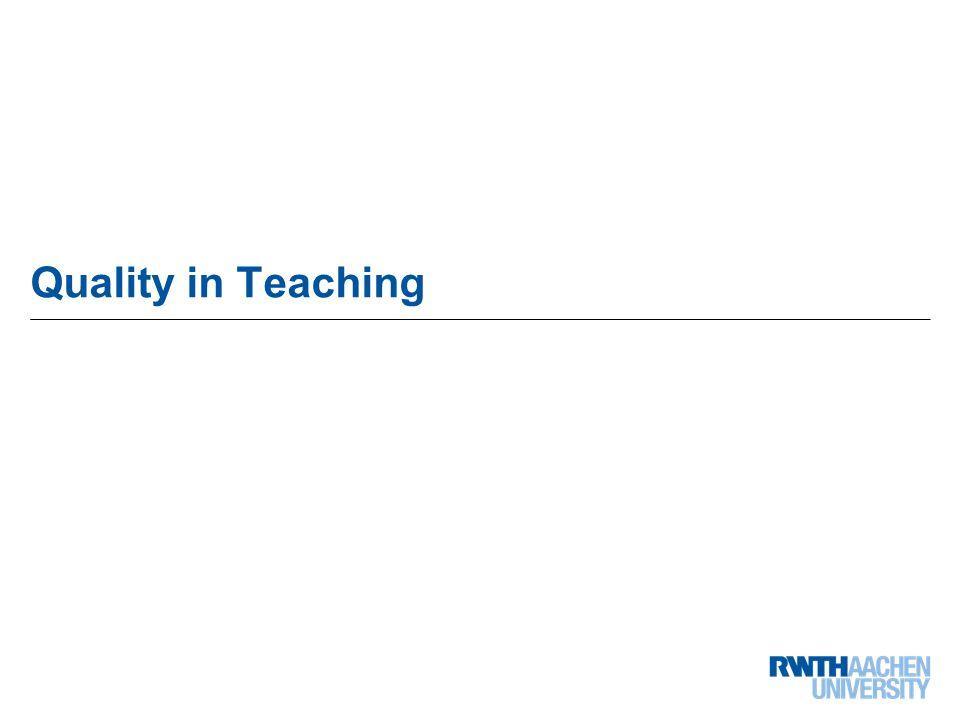 28 von 68 Quality in Teaching