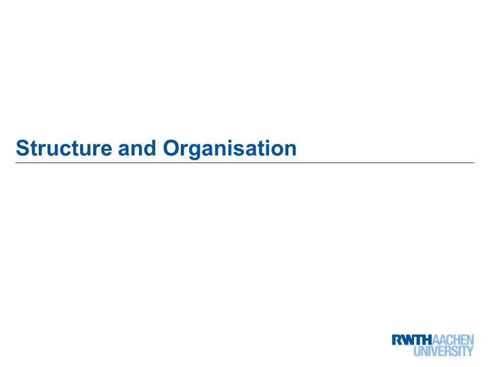 5 von 68 Structure and Organisation
