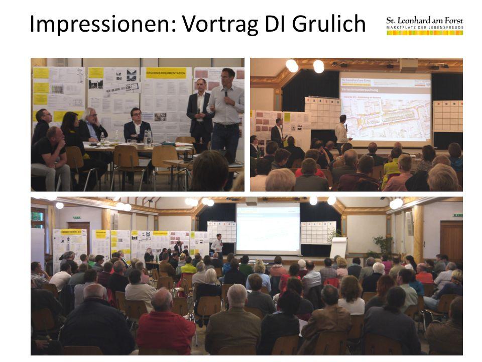 Impressionen: Vortrag DI Grulich