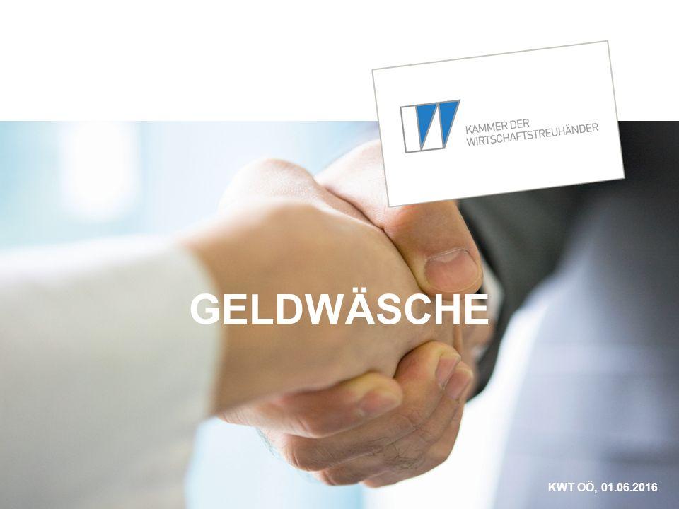 GELDWÄSCHE KWT OÖ, 01.06.2016