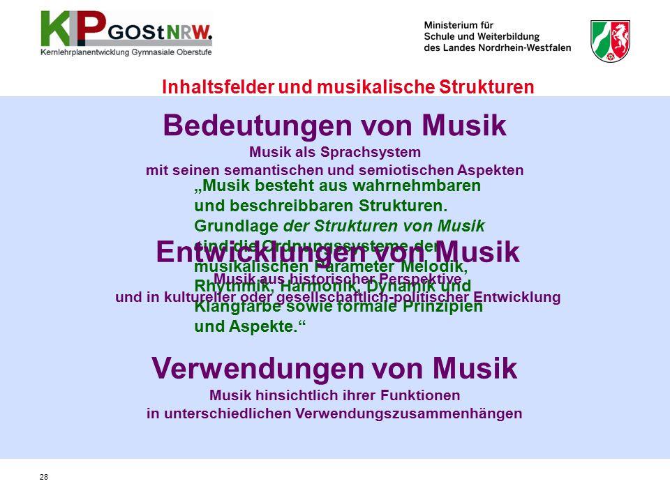 """""""Musik besteht aus wahrnehmbaren und beschreibbaren Strukturen."""