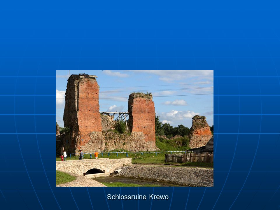 Schlossruine Krewo
