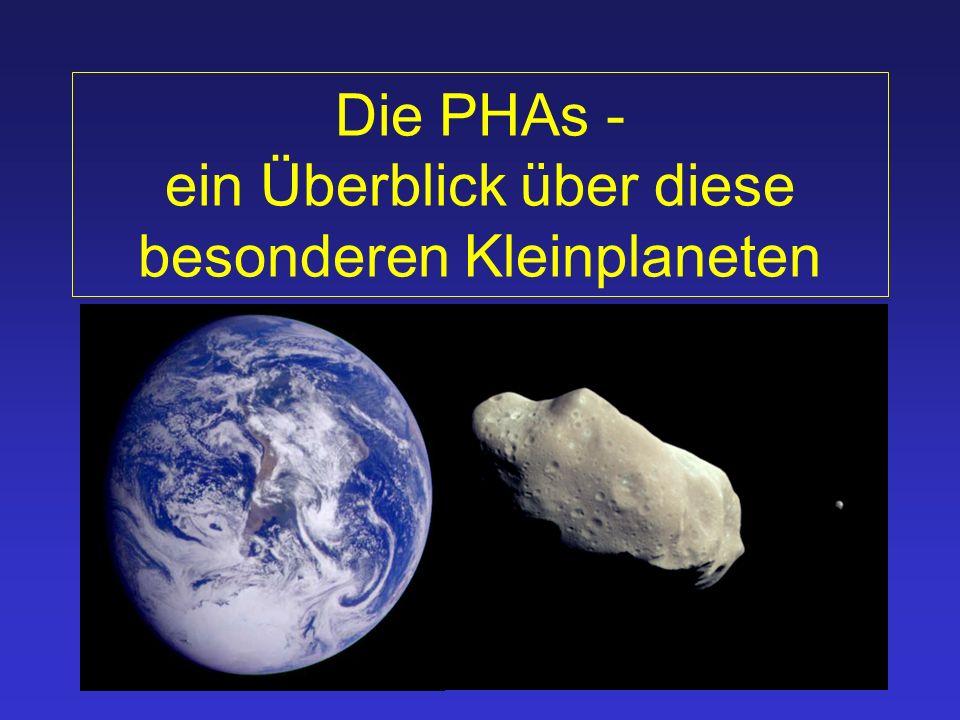 Die PHAs - ein Überblick über diese besonderen Kleinplaneten