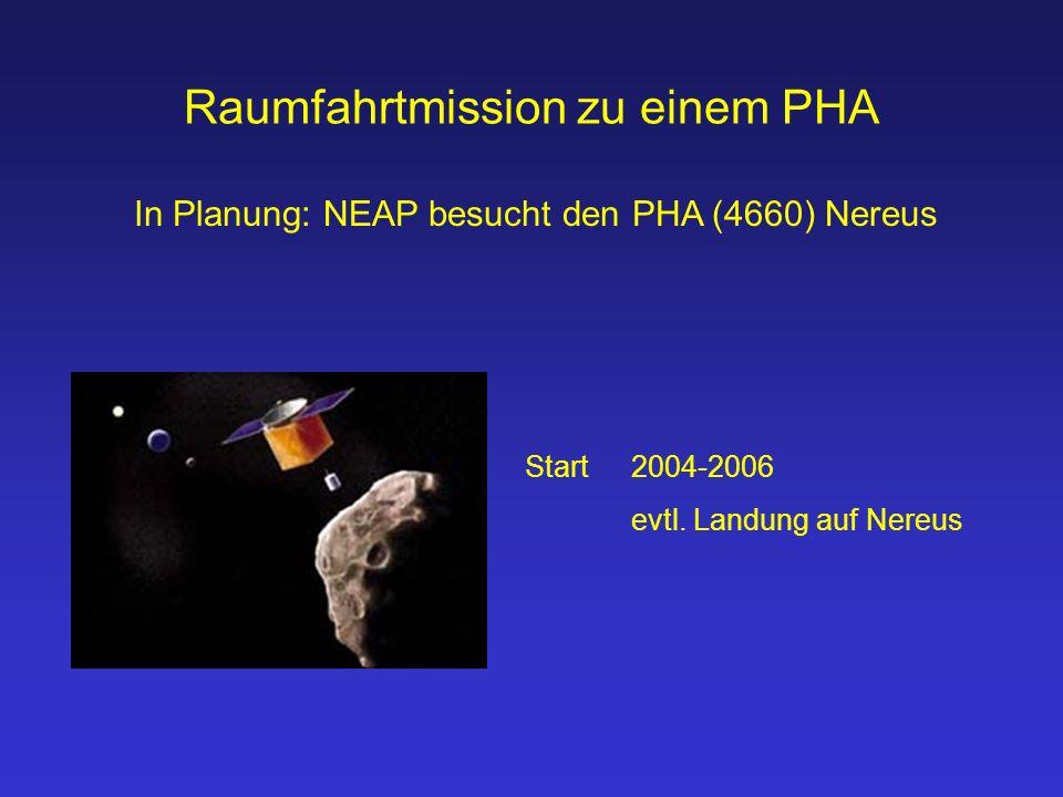 Raumfahrtmission zu einem PHA Start 2004-2006 evtl.