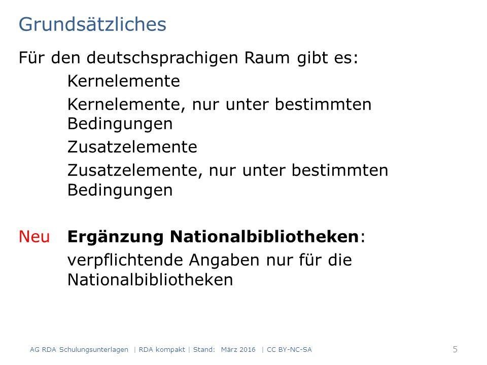 Beschreibung der Manifestation: einzelne Einheit 186 Seiten, Christoph Hein wurde 1944 geboren, die Sprache des Textes ist Deutsch 16 AG RDA Schulungsunterlagen | RDA kompakt | Stand: März 2016 | CC BY-NC-SA