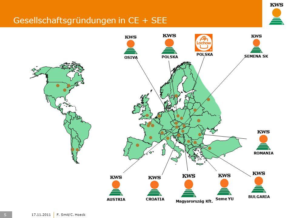5 17.11.2011F. Smit/C. Hoeck Gesellschaftsgründungen in CE + SEEAUSTRIA Magyarország Kft.