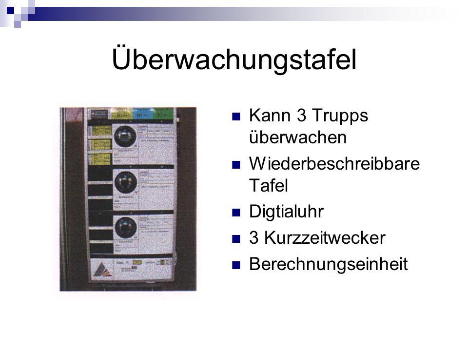 Überwachungstafel Kann 3 Trupps überwachen Wiederbeschreibbare Tafel Digtialuhr 3 Kurzzeitwecker Berechnungseinheit