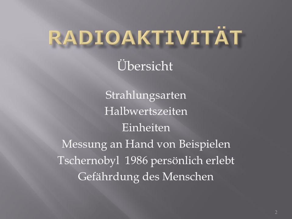Betastrahlung oder β -Strahlung ist eine ionisierende Strahlung, die bei einem radioaktiven Zerfall, dem Betazerfall, auftritt.