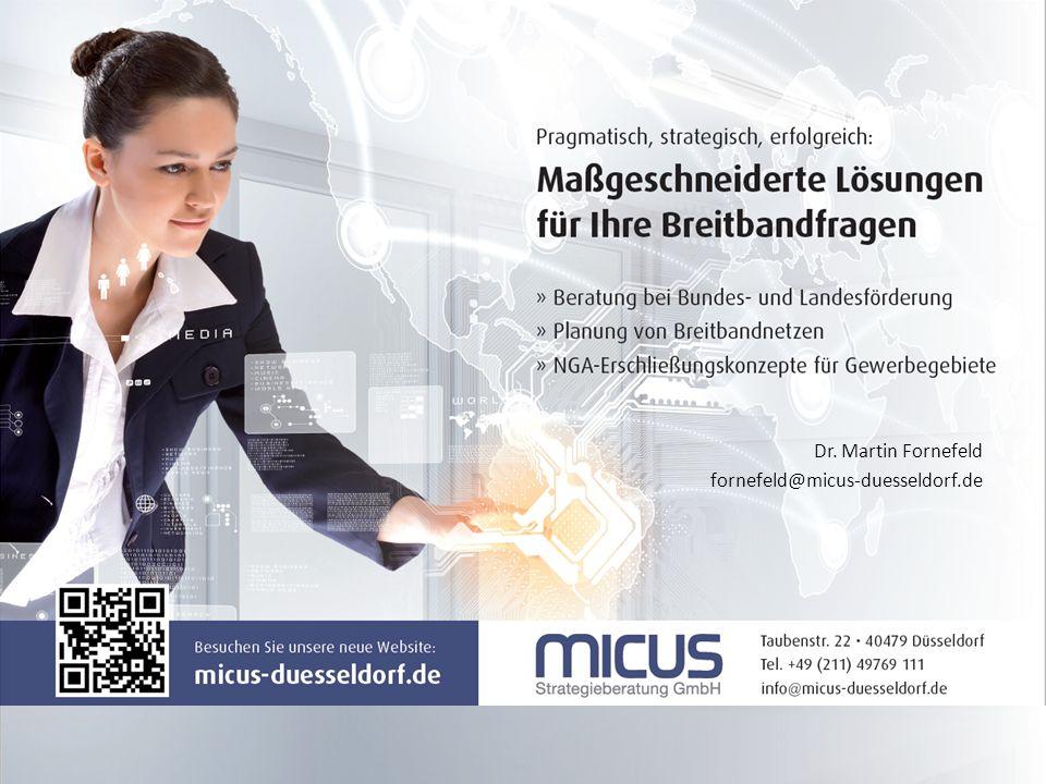 Dr. Martin Fornefeld fornefeld@micus-duesseldorf.de