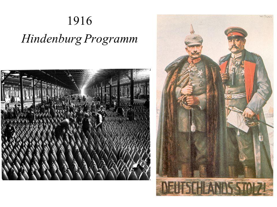 1916 Hindenburg Programm