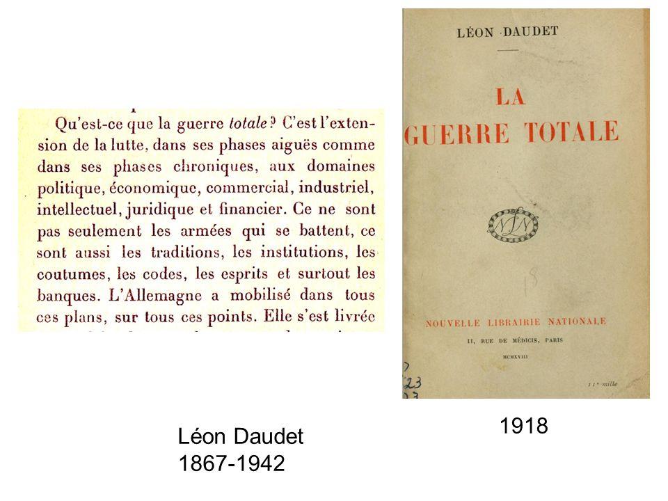 Léon Daudet 1867-1942 1918