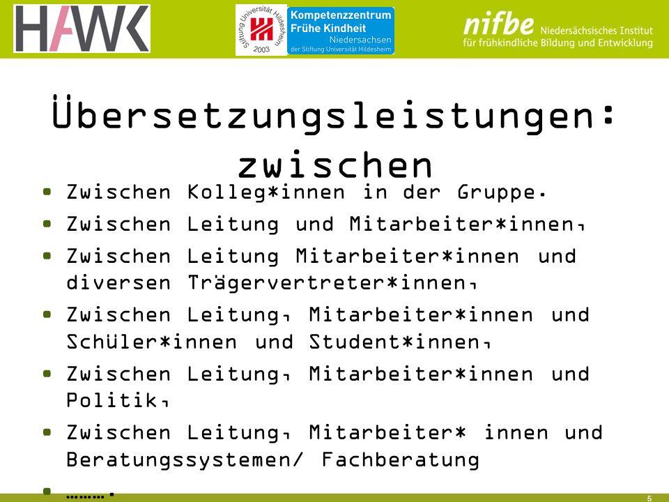 5 Übersetzungsleistungen: zwischen Zwischen Kolleg*innen in der Gruppe.