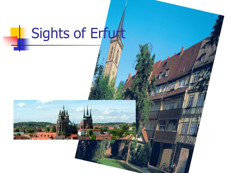 Sights of Erfurt