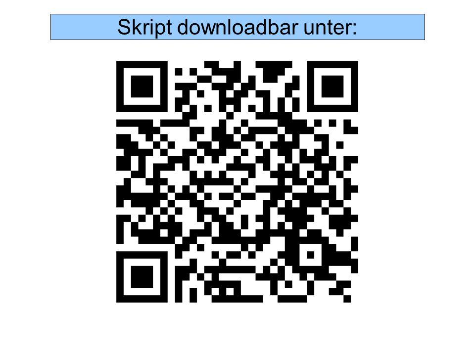 Skript downloadbar unter: