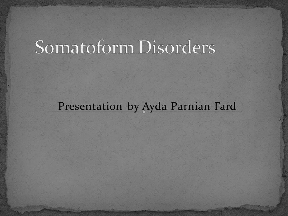 Presentation by Ayda Parnian Fard
