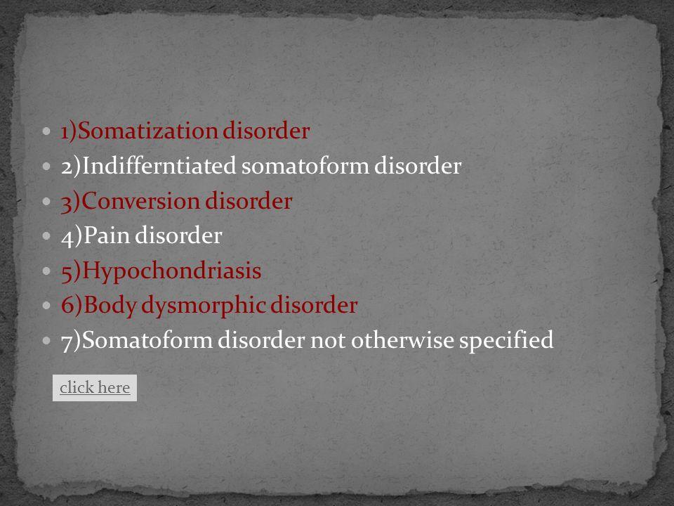 -Münchhausen syndrome -Münschhausen by proxy -Ganser syndrome