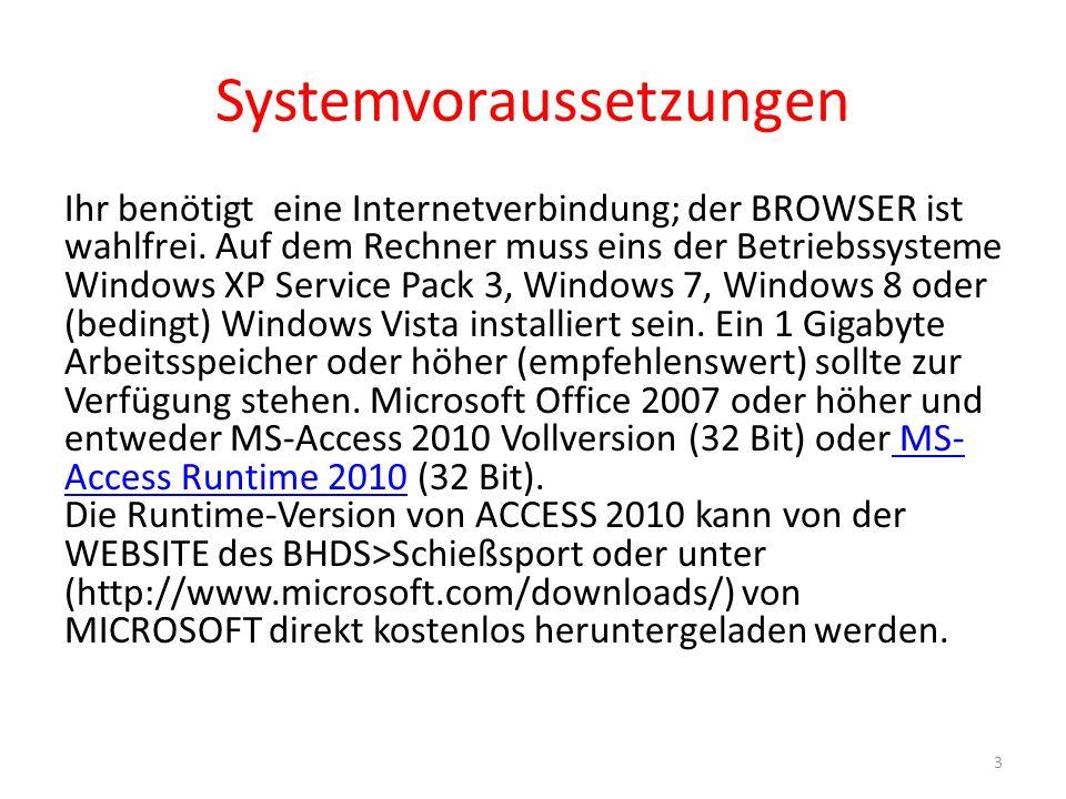 Systemvoraussetzungen Ihr benötigt eine Internetverbindung; der BROWSER ist wahlfrei.