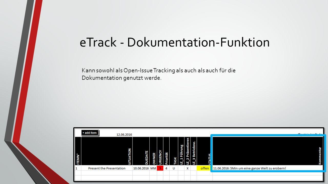 eTrack - Urgency Feature Algorithmus zur Bestimmung der Dringlichkeit in Abhängigkeit von: Duedate Priorität Task Status