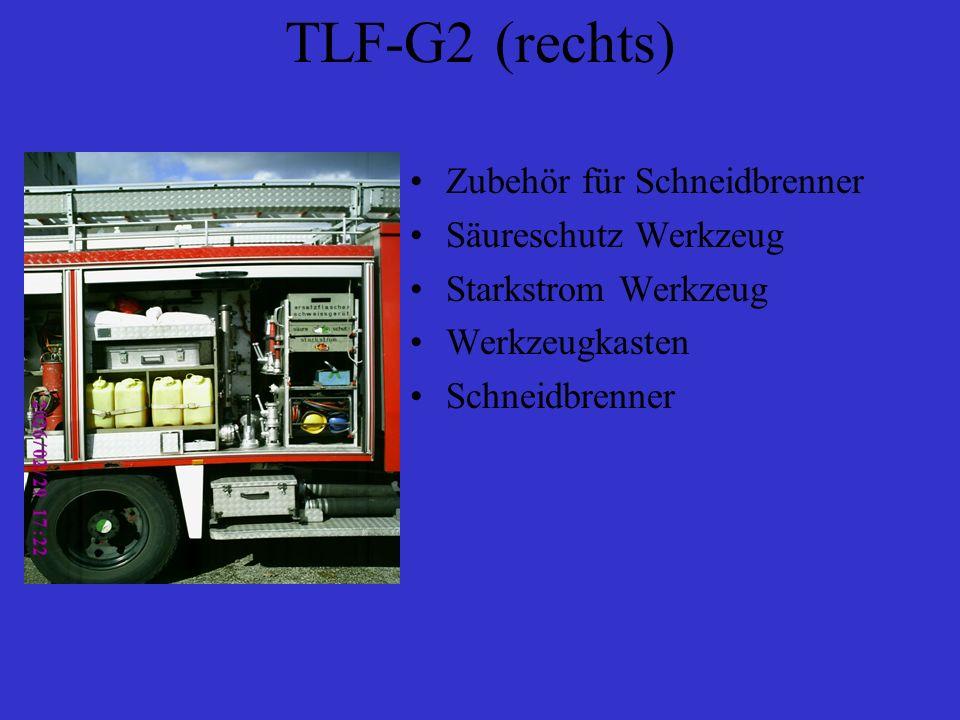 TLF-G2 (rechts) Zubehör für Schneidbrenner Säureschutz Werkzeug Starkstrom Werkzeug Werkzeugkasten Schneidbrenner