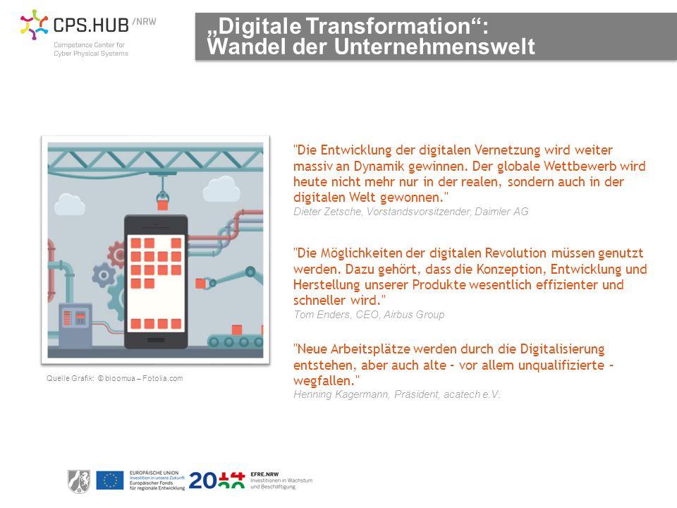 Die Möglichkeiten der digitalen Revolution müssen genutzt werden.