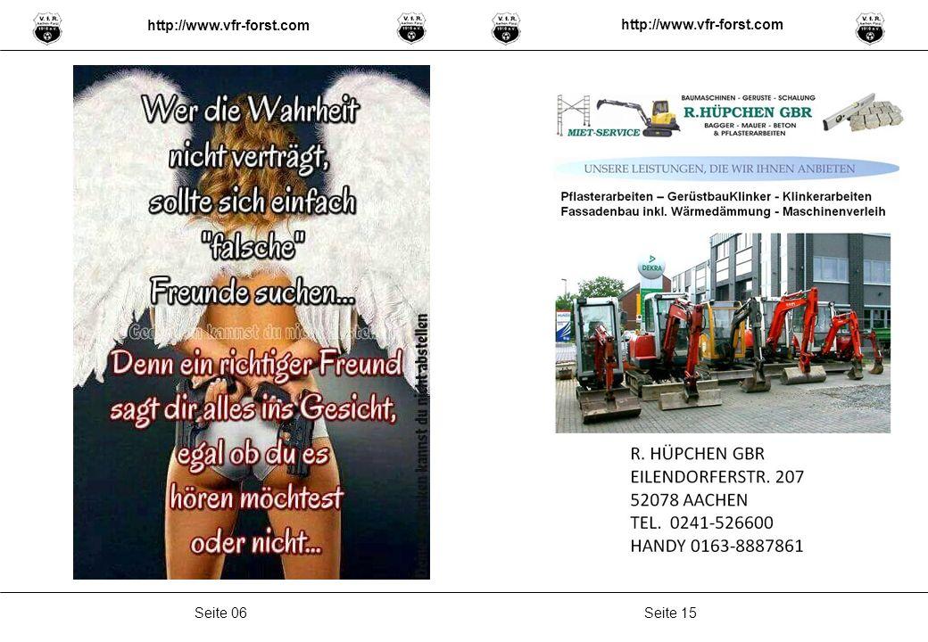 Seite 15Seite 06 http://www.vfr-forst.com