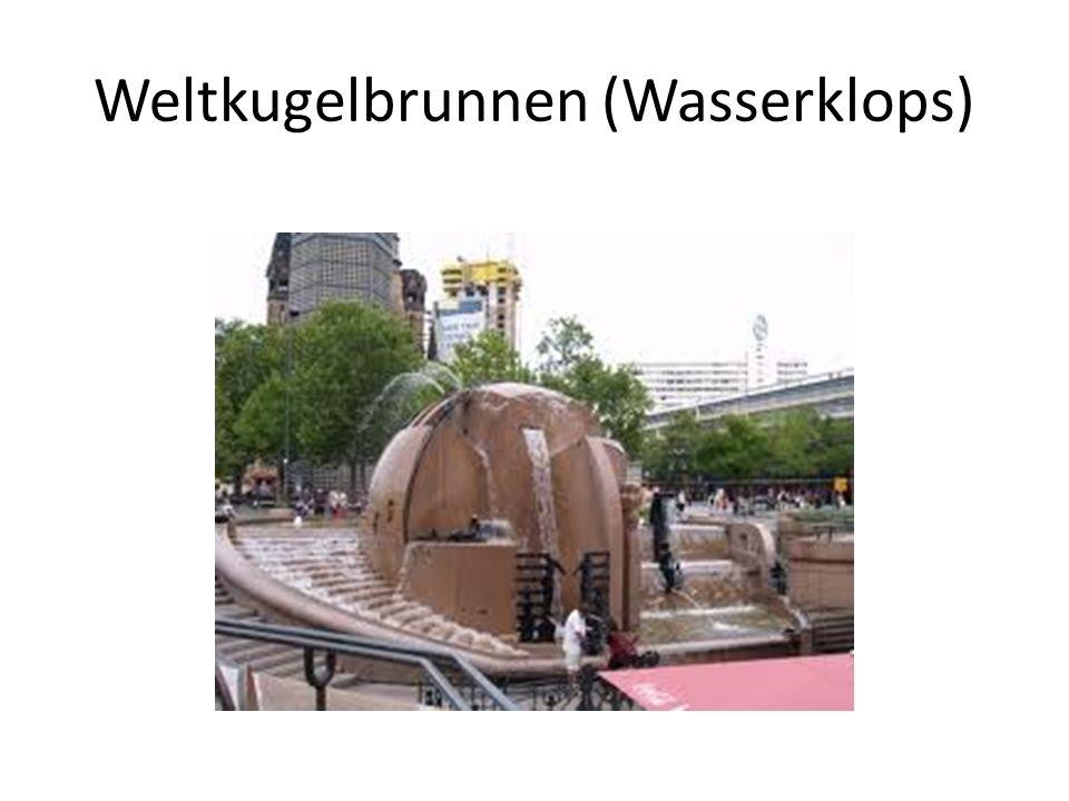 Weltkugelbrunnen (Wasserklops)