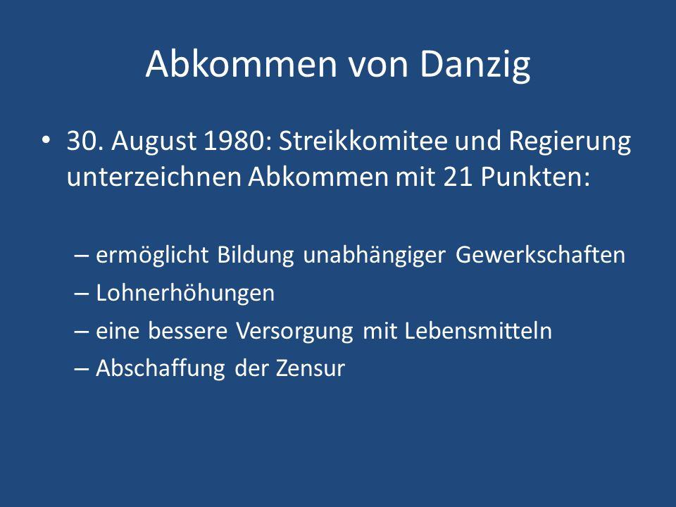 Abkommen von Danzig 30.