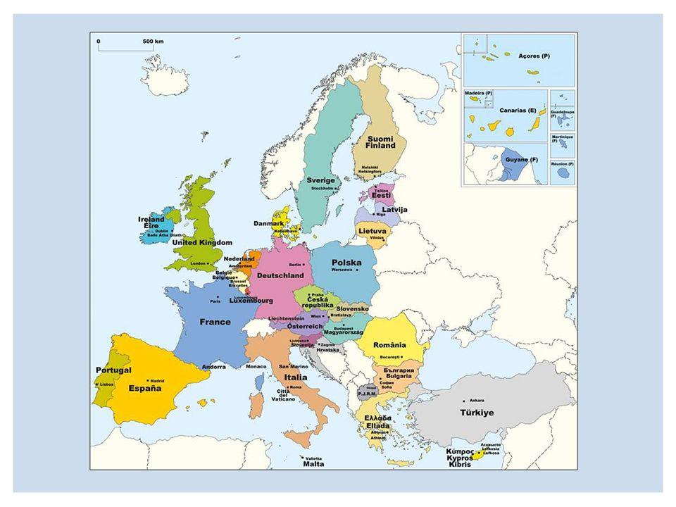 Die Institutionen der EU Das Europäische Parlament Die Europäische Kommission Der Rat der europäischen Union Der europäische Gerichtshof Der europäische Rechnungshof