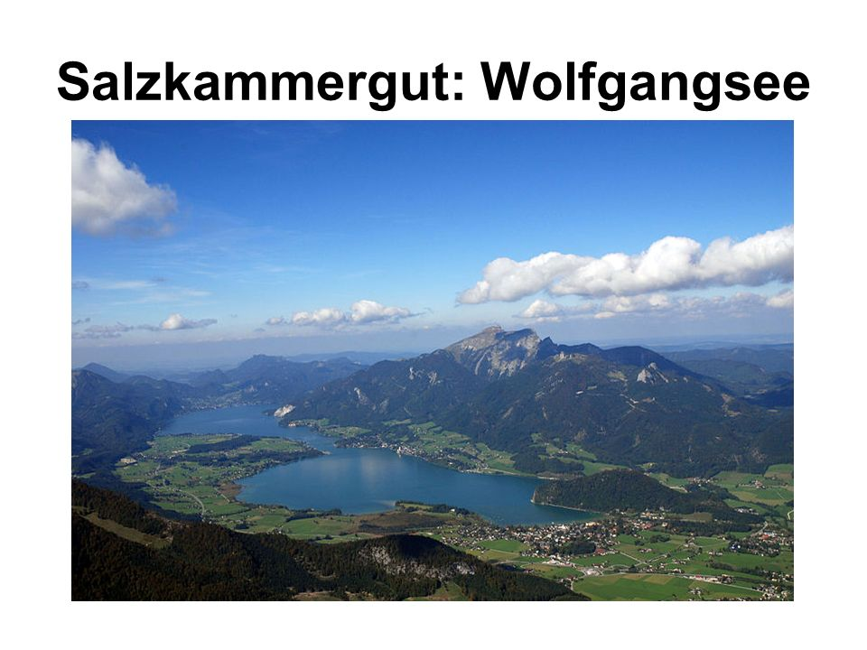 Salzkammergut: Wolfgangsee