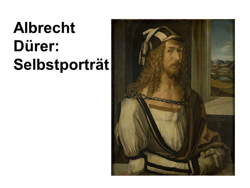 Albrecht Dürer: Selbstporträt