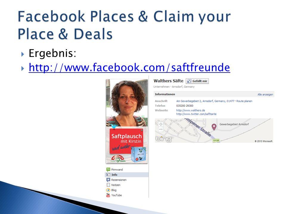 Ergebnis:  http://www.facebook.com/saftfreunde http://www.facebook.com/saftfreunde