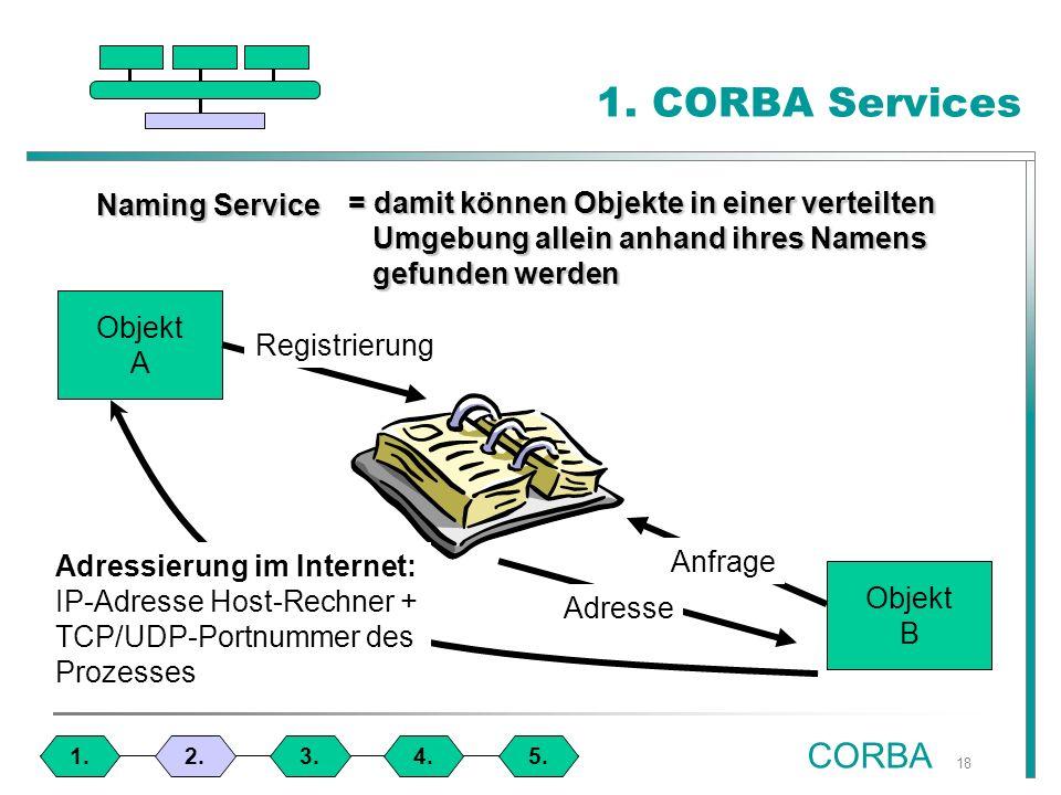 18 1. CORBA Services 1.4.3.2.5.