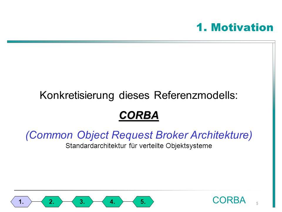 46 2. Beispielanwendung 1.4.3.2.5. Java - Interface CORBA