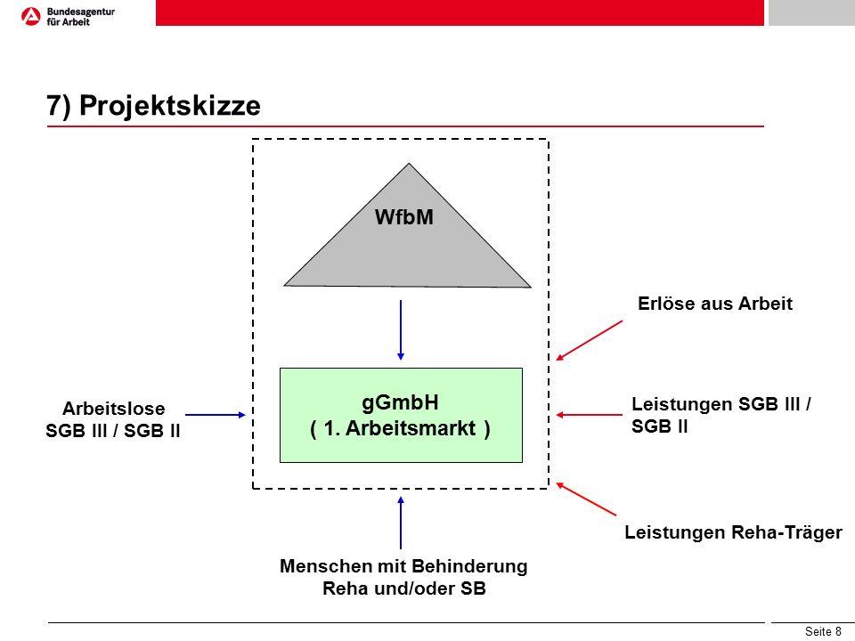 Seite 8 7) Projektskizze WfbM gGmbH ( 1.
