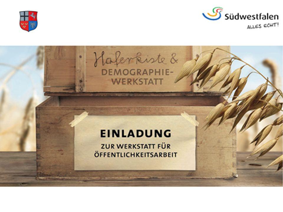 Werkstatt für Öffentlichkeitsarbeit Herzlich willkommen im Bürger- und Rathaus Bestwig 2 Werkstatt für Öffentlichkeitsarbeit