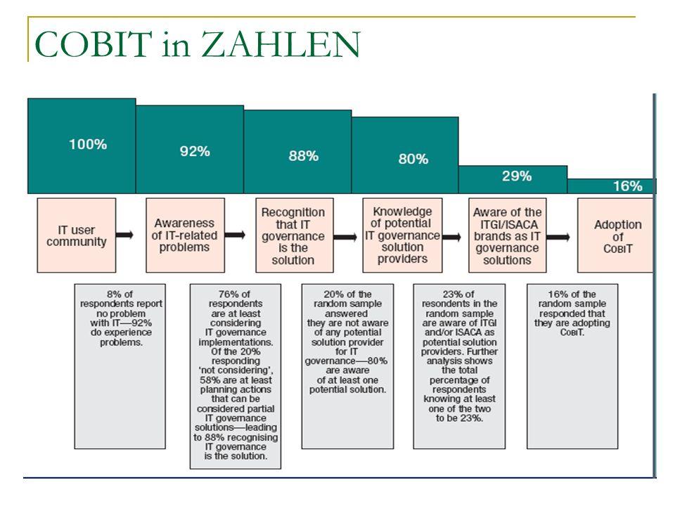 Quelle : IT Governance Global Status Report—2008