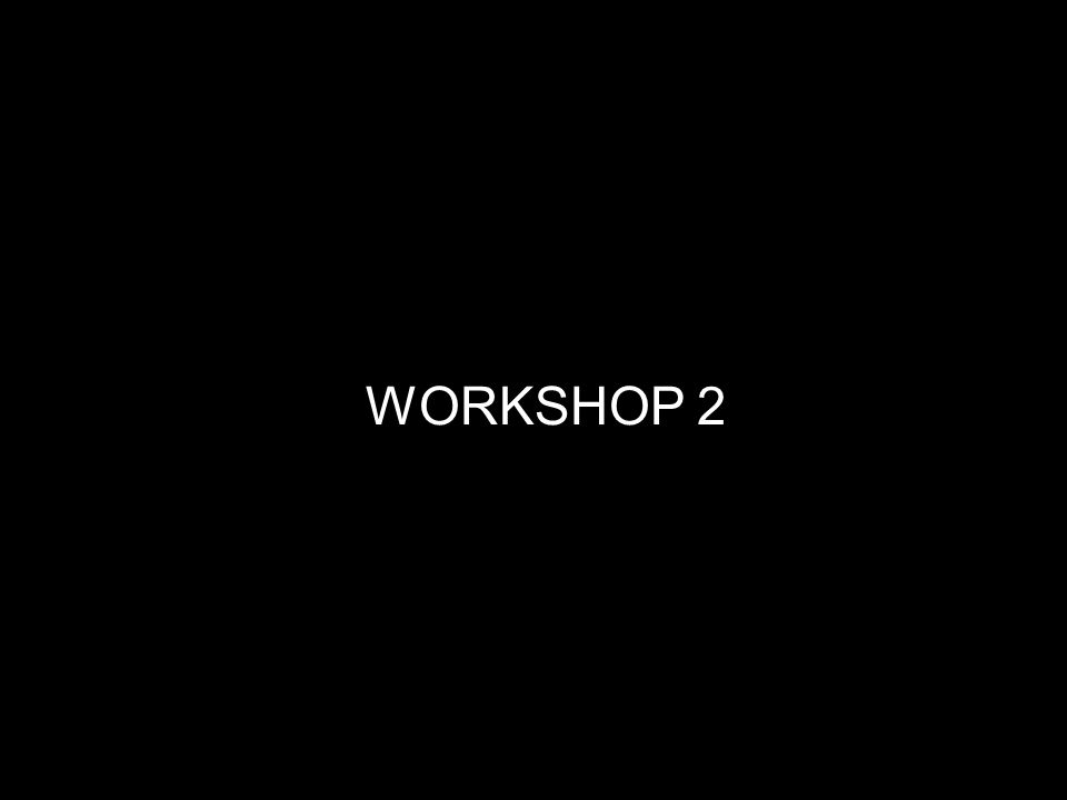 6 WORKSHOP 2