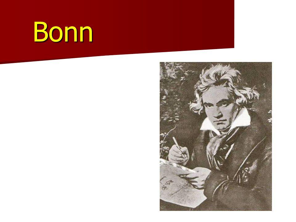 Bonn Ludwig van Beethoven der größte Sohn der Stadt Er wurde am 16.12.1770 geboren. Er ist am 26.3.1827 gestorben.