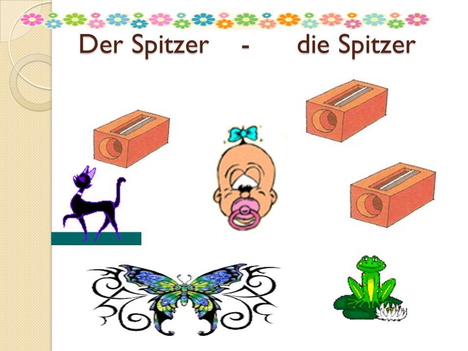 Der Spitzer - die Spitzer