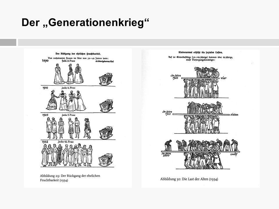 """Der """"Generationenkrieg"""""""