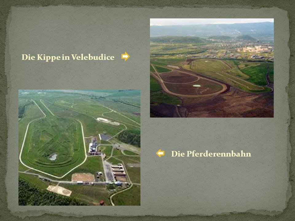 Die Pferderennbahn Die Kippe in Velebudice